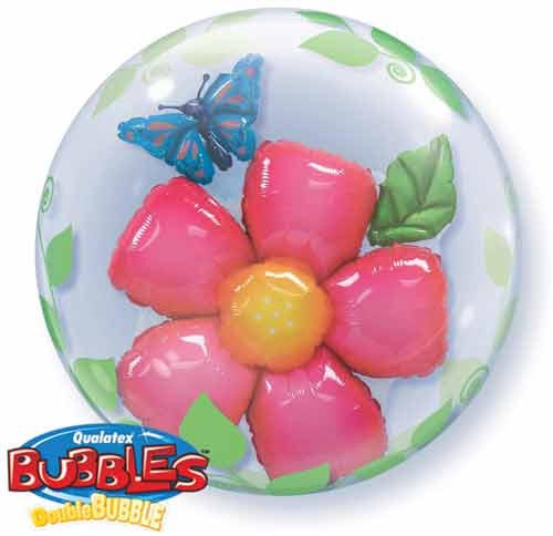 Flower Double Bubble - Uninflated