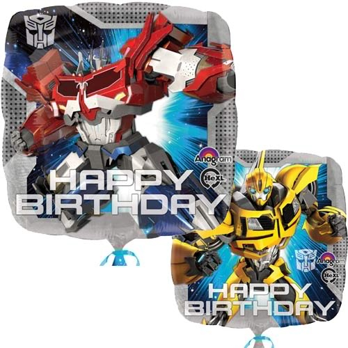 Transformers Happy Birthday