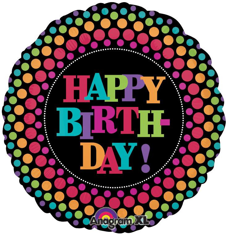 Happy Birthday Retro Images Happy Birthday Retro Dots