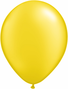 5inch latex, 100ct - Pearl Yellow, uninflated