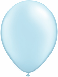 5 inch latex, 100ct - Pearl LightBlue, uninflated