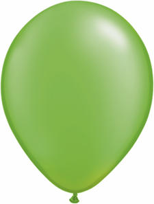 5 inch latex, 100ct - Pearl Lime, uninflated