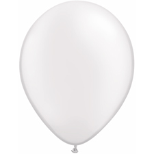 5 inch latex, 100ct - Pearl White, uninflated