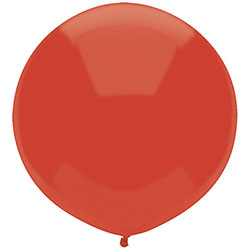 17 inch Round, 5ct - Standard Real Red