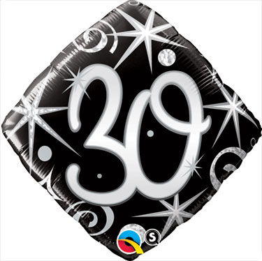 30 Elegant Sparkles - Diamond  - Uninflated