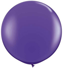36 inch Latex - Fashion Purple Violet,