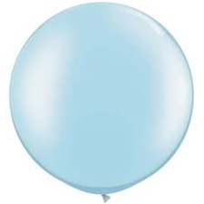 30 inch Latex - Pearl Light Blue
