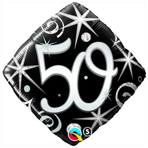 50 Elegant Sparkles - Diamond  - Uninflated