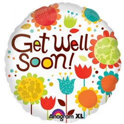 Get Well Soon Tulips and Flowers