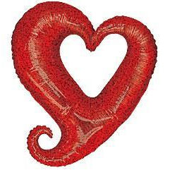 Red Linky Heart