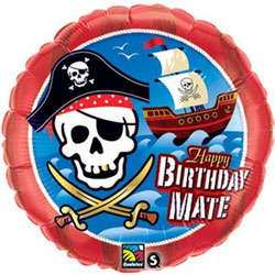 Happy Birthday Mate - Uninflated
