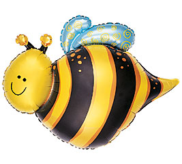 Bumble Bee Super Shape Balloon - Uninflated