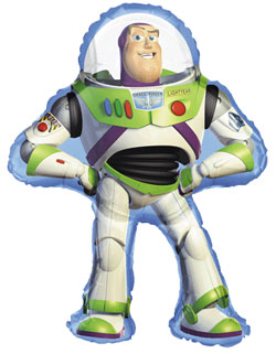 Buzz Lightyear Supershape - Uninflated