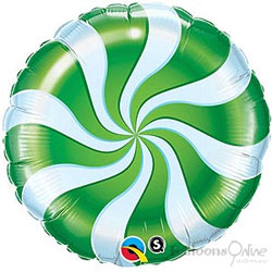 Candy Swirl 18inch - Green
