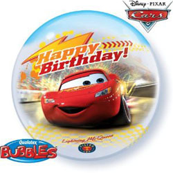Disney Cars Happy Birthday - Uninflated