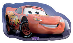 Cars Lightning McQueen Supershape - Uninflated