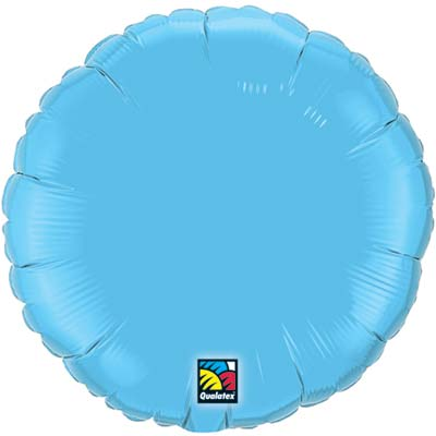 Circle Foil Balloon | Light Blue