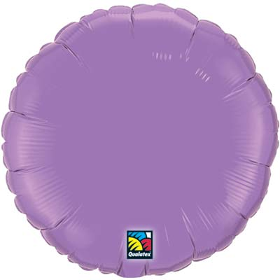 Circle Foil Balloon | Lavender