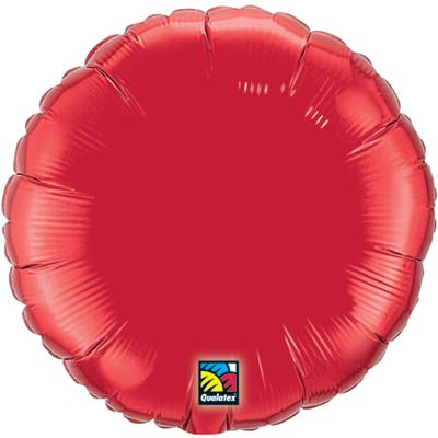Circle Foil Balloon | Red
