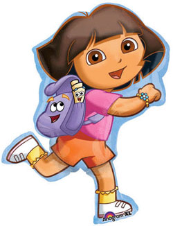 Dora Adventure Supershape