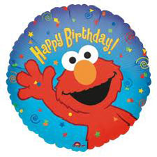 Elmo - Happy Birthday - Uninflated