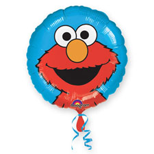 Elmo Happy Face - Uninflated
