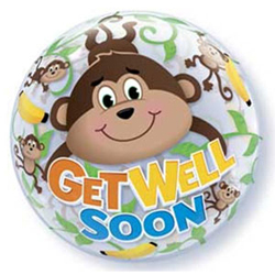 Get Well Soon Monkey