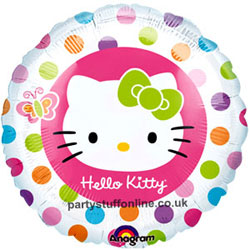 Hello Kitty Foil - Uninflated