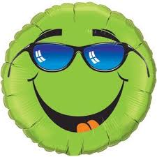 Keep Cool Smiley - Uninflated