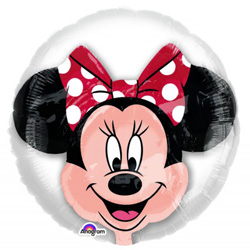 Minnie Mouse Double Bubble Red Bow