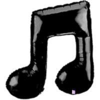 Musical Note Supershape - Uninflated