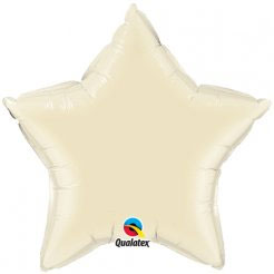 Star Balloon l Pearl Ivory