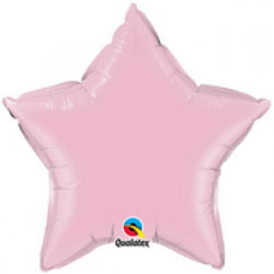 Star Balloon l Pearl Pink
