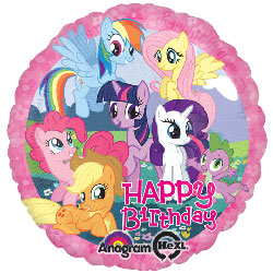 My Little Pony - Happy Birthday - Uninflated