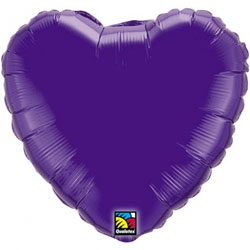 Heart Foil Balloon l Quartz Purple
