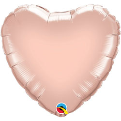 Heart Foil Balloon | Rose Gold