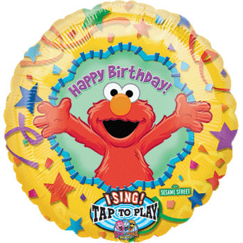 Elmo Happy Birthday | Sing-a-tune - Uninflated
