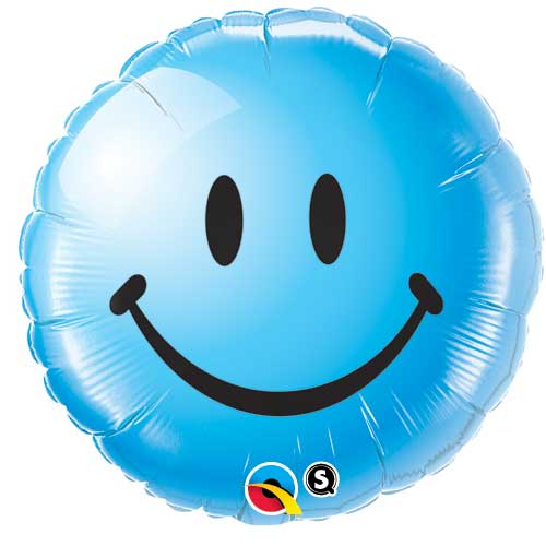 Smiley Blue - Uninflated