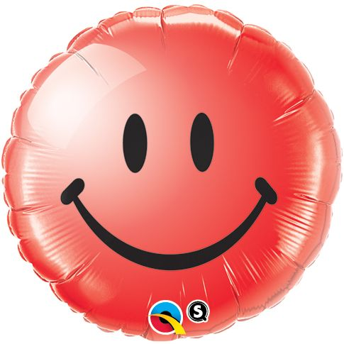 Smiley Red - Uninflated