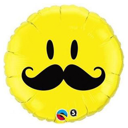 Mr Mustache Smiley