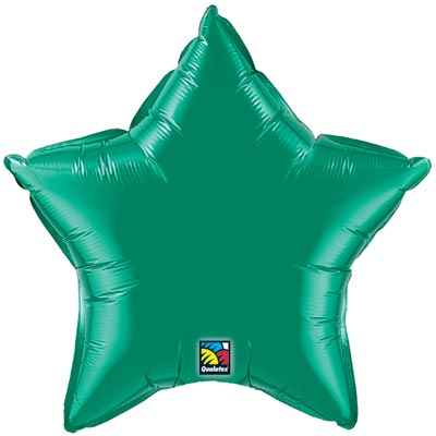 Star Balloon | Emerald Green