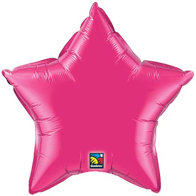 Star Balloon | Fuchsia