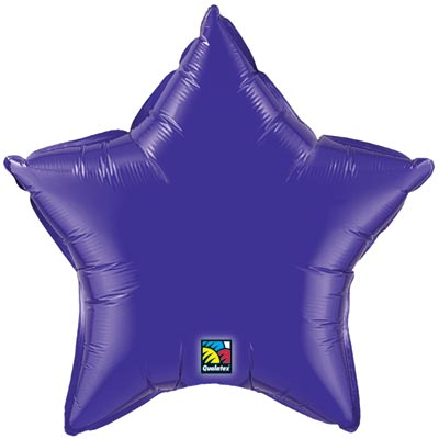 Star Balloon | Purple
