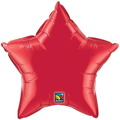 Star Balloon | Red