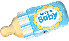 Welcome Baby Boy Bottle