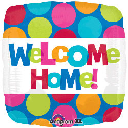 Welcome Home Square Dots - Uninflated