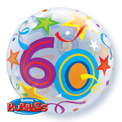 60 Brilliant Stars Bubble - Uninflated