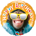 Happy Birthday Funny Chimp