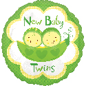 New Baby Pea Twins