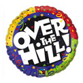Over the Hill Confetti Foil - Uninflated